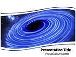 Black Hole Theory PowerPoint Theme