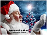 Santa Claus History Template PowerPoint