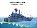 Navy powerpoint template