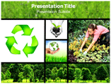 environment growth powerpoint template