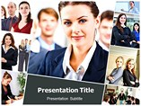 Business Women PowerPoint Theme