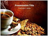 Coffee Bean PowerPoint template