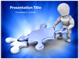 Mis Puzzle powerpoint template