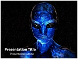 Extraterrestrial Life PowerPoint Backgrounds