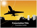 Airplane Template PowerPoint