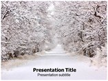 Snow Damage Powerpoint Template