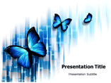 Butterfly Tattoos Powerpoint template