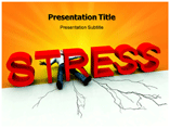 Stress Template PowerPoint