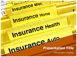 Insurance Types powerpoint template