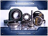 Bearings and Drives powerpoint template