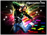 Music and culture powerpoint template