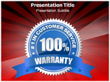 Warranties PowerPoint Background
