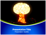 atomic bomb powerpoint template