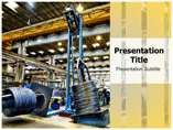 Metal industry Templates powerpoint templates
