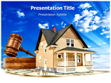 Bidding Home Templates powerpoint templates