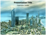 City Model  powerpoint templates