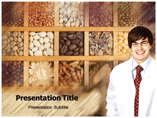 Macrobiotic diet powerpoint template