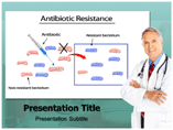 Antibiotic Resistance powerpoint template