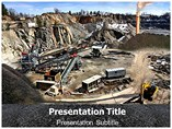 coal mining powerpoint template
