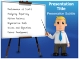 Manager Responsibility PowerPoint Background