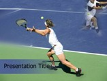 Tennis Court Powerpoint Templates - Tennis