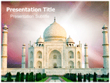 Tajmahal Mausoleum PowerPoint Template