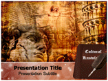 cultural knowledge powerpoint template