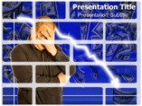 economic problems powerpoint template