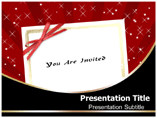 invitation Card powerpoint template