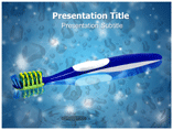 Tooth brush Powerpoint Template