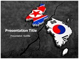 Korean Crisis powerpoint template