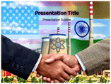 nuclear deal powerpoint template