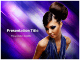 Hair style powerpoint template