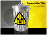 nuclear waste management powerpoint template