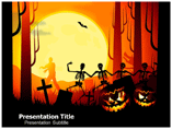 Halloween Facts PowerPoint Backgrounds