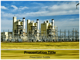 PowerPlant Clothing Plant powerpoint template
