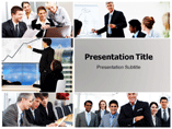 Business Environment Association PowerPoint Background