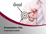 Goal Achievement PowerPoint Background