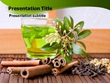 Powerpoint Templates for Herbal Tea