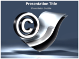 Copyright Law PowerPoint template