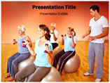 Health education powerpoint template