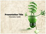 Energy Consumption powerpoint template