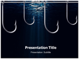 Fishing Hook powerpoint template