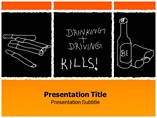 Bad Habits powerpoint template