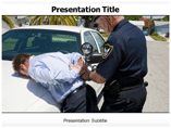 Arrest powerpoint template