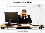Business Stress PowerPoint Backgrounds