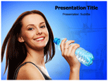Drinking Water powerpoint template