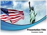 USA Culture PowerPoint Theme