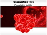 Blood powerpoint template