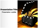 Film Media powerpoint template